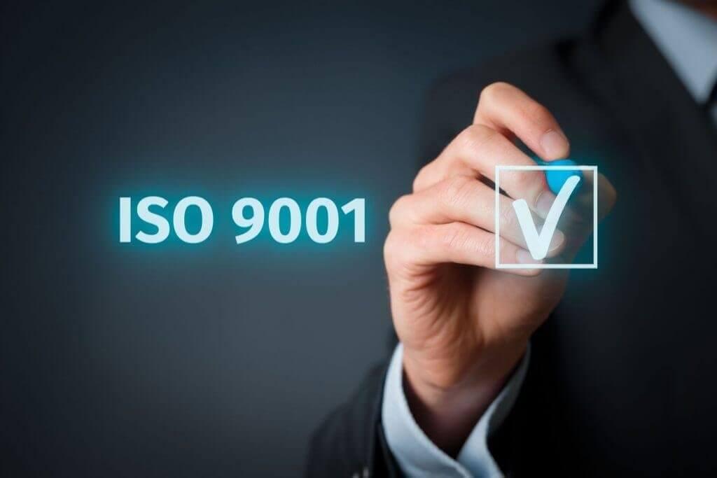 Certificazione di qualita ISO 9001-2015
